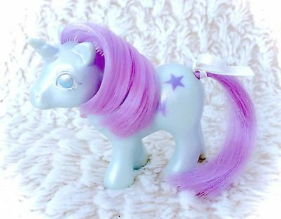 G1 My Little Pony Pearlized Baby Glory Pearl Vintage Original Mail Order G1 1984