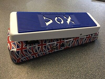 Vox V847 Union Jack Wah Guitar effects pedal
