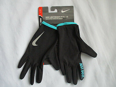 NWT NIKE Women's Lightweight Rival 2.0 Running Gloves Size S