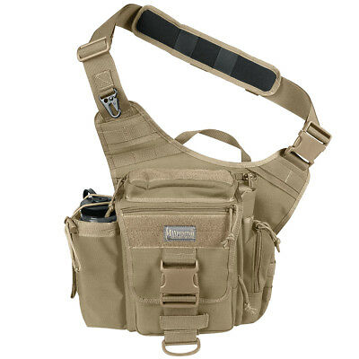 Maxpedition Us Army Style Jumbo Versipack Outdoor Shoulder Molle Sling Bag Khaki
