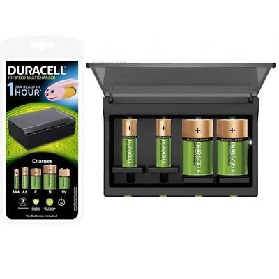 Caricabatterie Universale Duracell Per Pile Ricaricabili 6-8 Ore Ricarica
