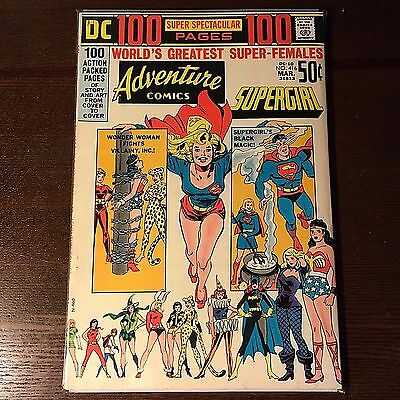 ADVENTURE COMICS 416 Origin Supergirl + 1st App Black Canary (reprint gold age)