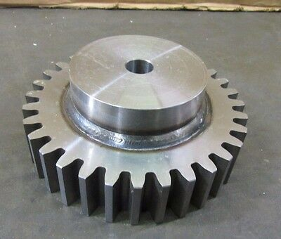 "Linn Gear 4Fs32 Steel Spur Gear Hub Type B 1"" Bore Pitch 8 5"" Hub"