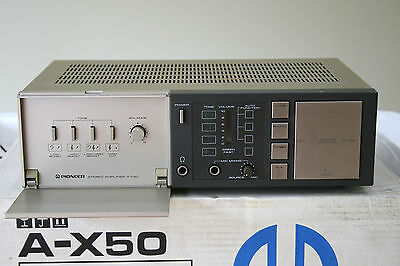 Pioneer A-X50 Integrated Stereo Phono Amplifier - Made in Japan, Fully Boxed