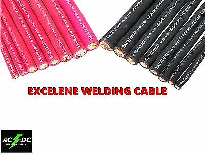 Excelene Battery and Welding Cable Copper 4/0 TO 6 Gauge AWG Size By the Foot