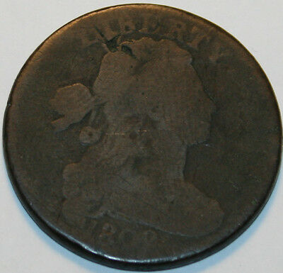 1802-P Large Cent Draped Bust 1/000 [SN04]