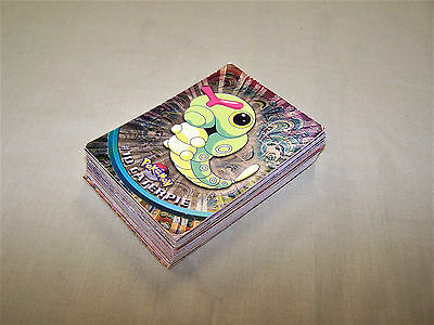 Pokemon x43 Topps cards Foil/Holo (x4 not Foil)