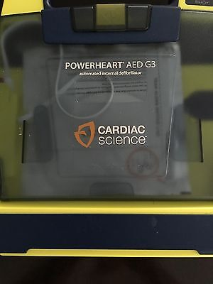 Cardiac Science Powerheart G3 AED Automatic w/ Pads & Case
