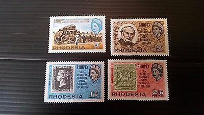 Rhodesia 1966 Sg 388-391 28Th Congress Of South Africa Philatelic Fed Mnh