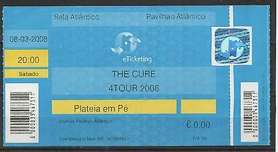 The Cure Used Ticket 2008 Portugal