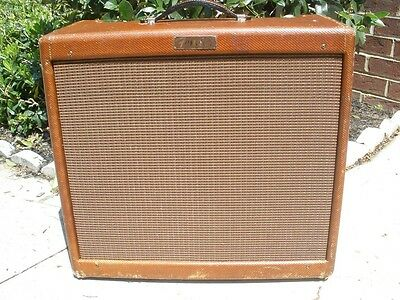 Vintage 1956 Fender Pro Tweed Amp - 5E5-A Circuit - Very Clean Condition!