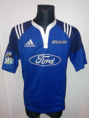 Auckland Blues Rugby Union Shirt Size Medium Excellent Condition