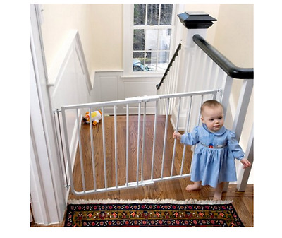 Cardinal Gates Stairway Special Gate White Safety Babies Kids Home