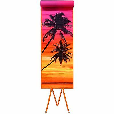 Roll-up Beach Mat, Tropical Fish with Pillow