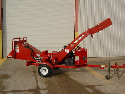 Demo Model Beever M6R Brush Chipper; 2012 Model, 27 HP