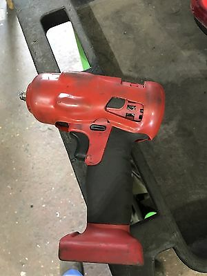 """Snap on 18v 3/8"""" Red Lithium Impact Gun / Wrench Body & Boot  Ct8810a"""