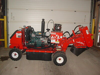 Used Morbark D52 Stump Grinder; 2007 Model, 35 HP