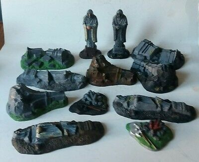 games workshop  Lord of the rings  plastic  middle earth ruins