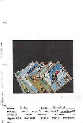 Lot of 48 Bhutan MNH Mint Never Hinged Stamps #98499 X R
