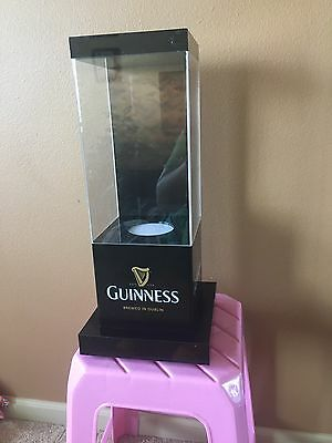 Guinness Beer Display With Light Box Stand Man Cave Game room