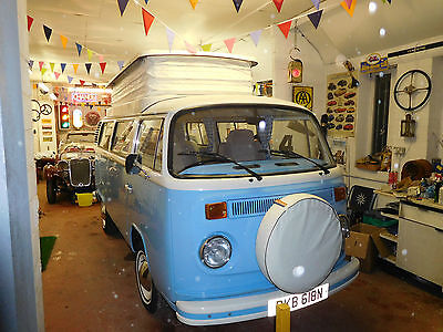 1974 VW T2 Bay Camper. Stunning vehicle with unused interior.