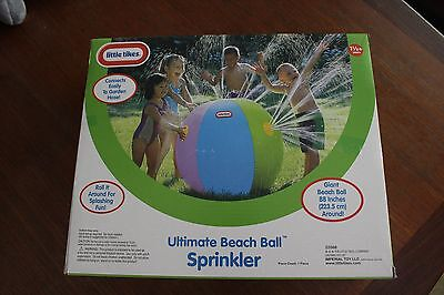 Ultimate Beach Ball Sprinkler-Little Tikes-88 inches round-New in box