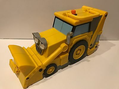 Bob The Builder Scoop Tractor For Diecast Vehicles Plastic Carrying Storage Case