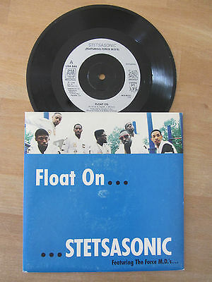 STETSASONIC ~ FLOAT ON (FEAT THE FORCE M.D.'s) / SHOWTIME ~ 1988 HIP HOP SOUL 7""