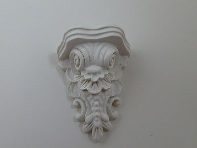 Dolls House Emporium Miniature 1:12th Scale Lounge White Classical Corbel (9670)