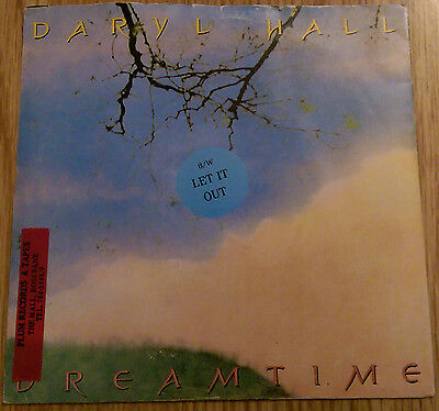 Daryl Hall - Dreamtime / Let It Out - South Africa - RCA RCAS 8 (1986)