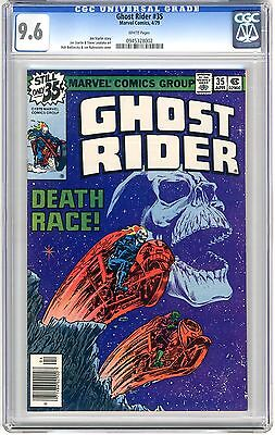 Ghost Rider #35  CGC 9.6 NM+  wht pgs 1st Death Ryder (Death) App. Classic Death