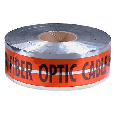 "31-151 Empire 6""X1000' Orange Prem ""Caution Fiber Optic Cable Below"" Pack of 2"
