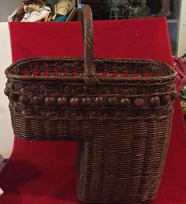 Stair Step Woven Basket Made in Philippines