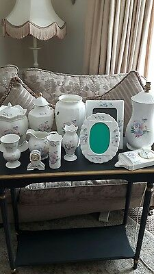 Collection of Aynsley Fine Bone China ~ Little Sweetheart Design
