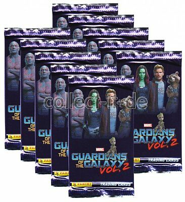Panini - Marvel Guardians of the Galaxy Vol.2 - 10 Booster - Deutsch