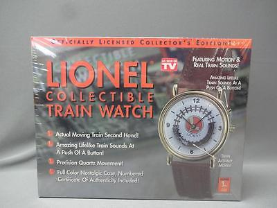 Lionel Collectible Train Watch with Motion & Real Train Sounds Sealed