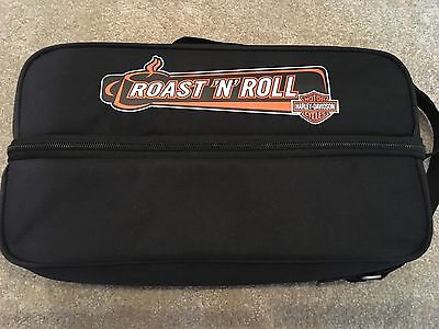 Harley Davidson Motorcycle NEW Roast 'N' Roll Travel Coffee Set Kit Bag Thermos