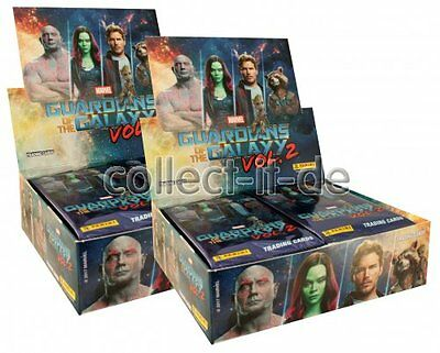 Panini - Marvel Guardians of the Galaxy Vol.2 - 2 Display (48 Booster) - Deutsch