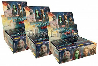 Panini - Marvel Guardians of the Galaxy Vol.2 - 3 Display (72 Booster) - Deutsch