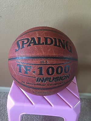 Spalding Tf-1000 Infusion Indoor Zk Microfiber Composite Basketball - 28.5""