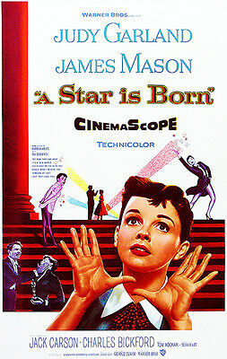 A Star Is Born - 1954 - Movie Poster