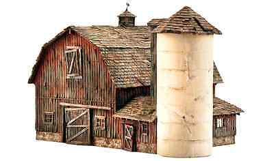 Woodland Scenics PF5211 Landmark Structures, N Scale Kit, Rustic Barn