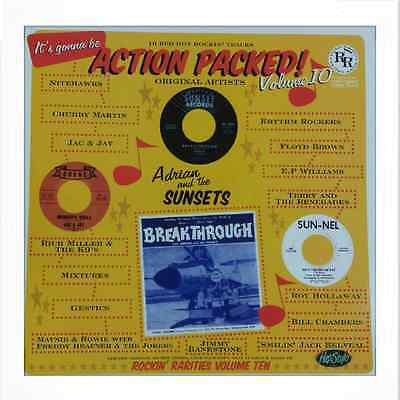 VA.ACTION PACKED VOL 10 - FANTASTIC RARE ROCKIN' 50/60s  LP