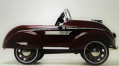 Pedal Car Chrysler Plymouth 1930s Hot Rod Rare Vintage Classic Midget Show Model
