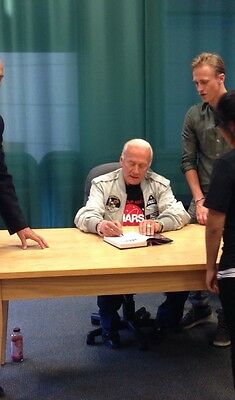 """Buzz Aldrin """"Mission To Mars: My Vision For Space Exploration"""" SIGNED Book"""