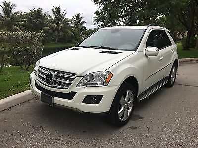2010 Mercedes-Benz M-Class SUV 2010 Mercedes-Benz ML350 4M - LUXURY FULLY LOADED