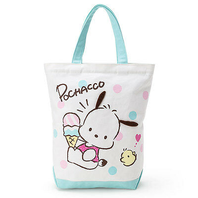 "Pochacco Tote Bag (Ice) Sanrio 15.7 x 4.7 x 14.5"" kawaii Cute F/S 2017 NEW"