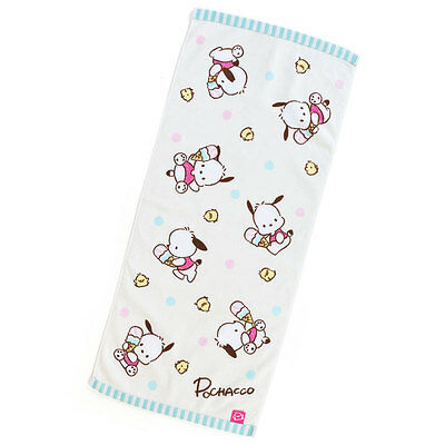 Sanrio Pochacco Face Towel (Ice) 80's Taste kawaii Cute 2017 NEW