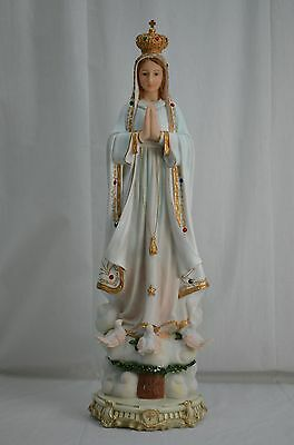 Our Lady Of Fatima & The Mirade Dover 72cm Polyresin