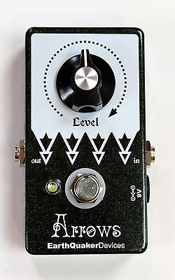 MINT w/Box - EarthQuaker Devices Arrows Preamp Booster Pedal